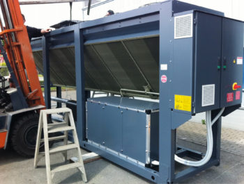 Coating omkasting chiller 2