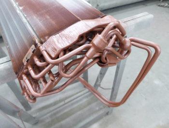 Verdampbatterij spuitcabine 2